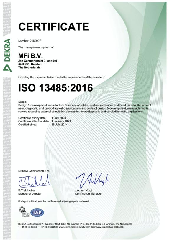MFI Certificering